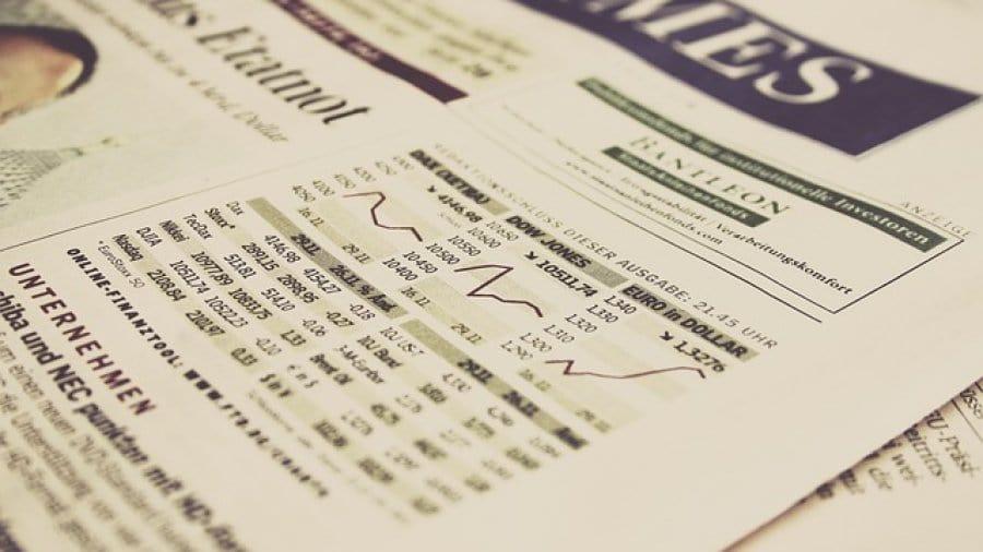 Nachrichten �ber Aktien aus der Zeitung