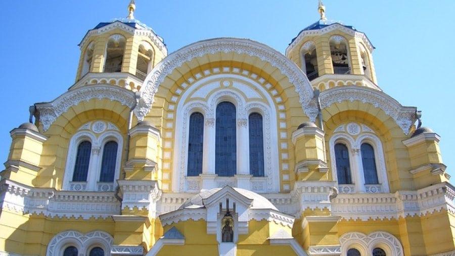 Haus in der Ukraine